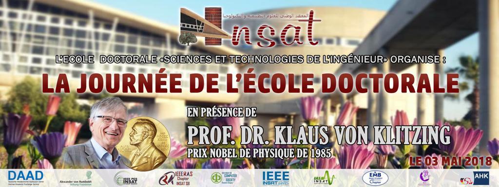 La Journée de l'Ecole Doctorale de l'INSAT