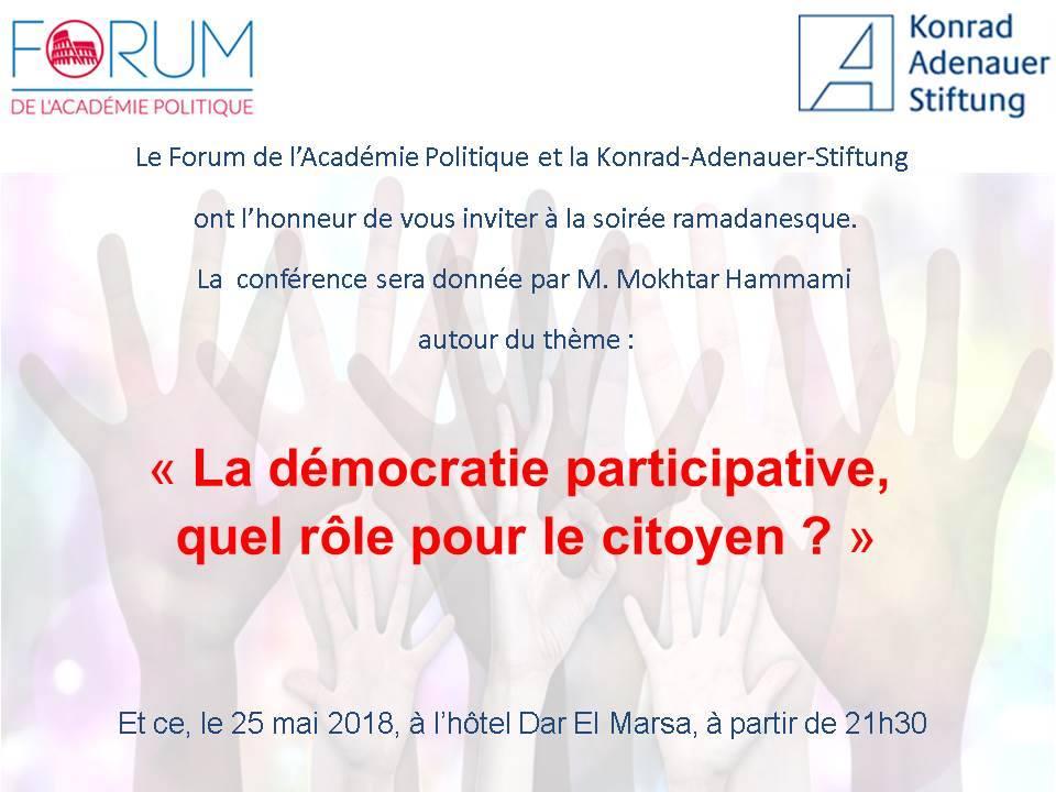La démocratie participative, quel rôle pour le citoyen ?