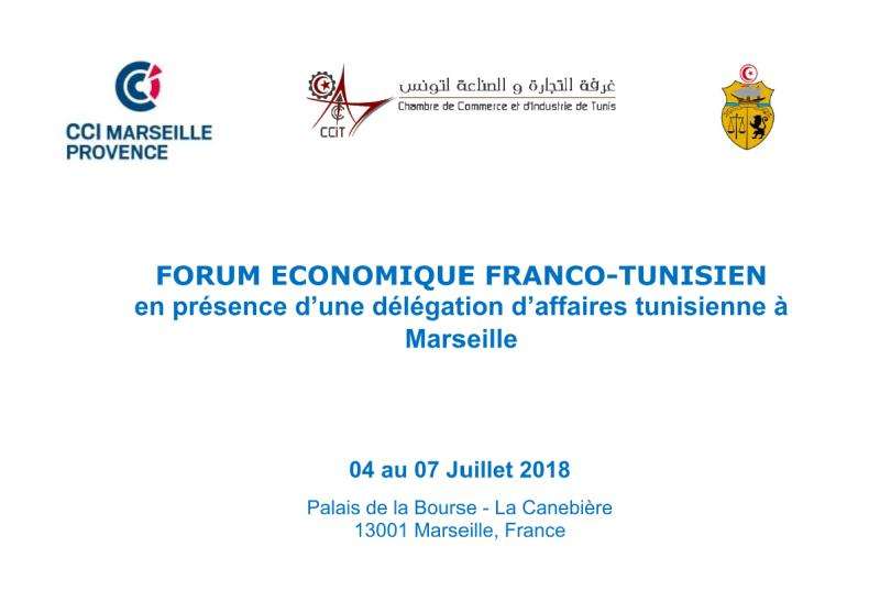 Le Forum Economique Franco-Tunisien à Marseille
