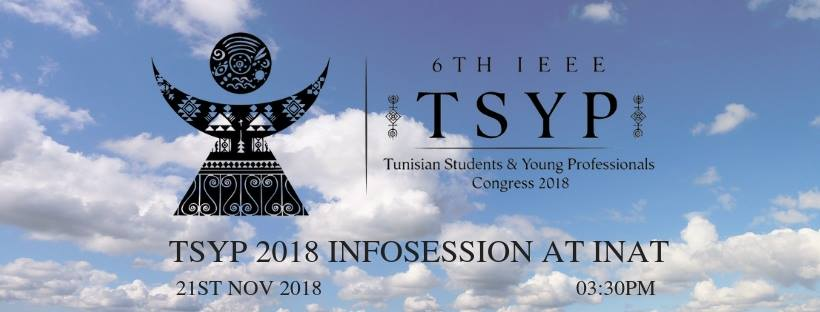 TSYP 2018 Infosession at INAT