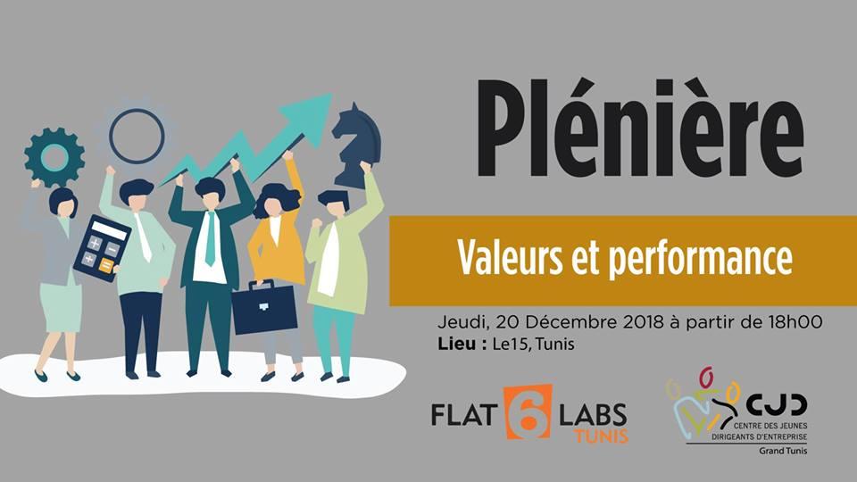 Plénière : Valeurs et Performance