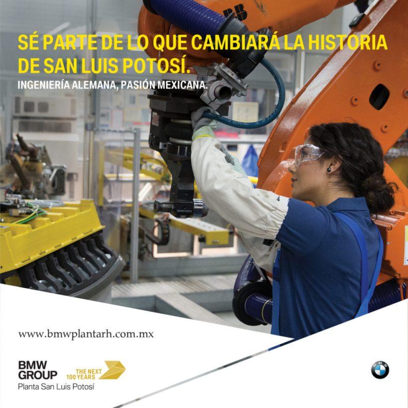 BMW planta San Luis Potosí ya esta ofreciendo empleos, aplica aquí