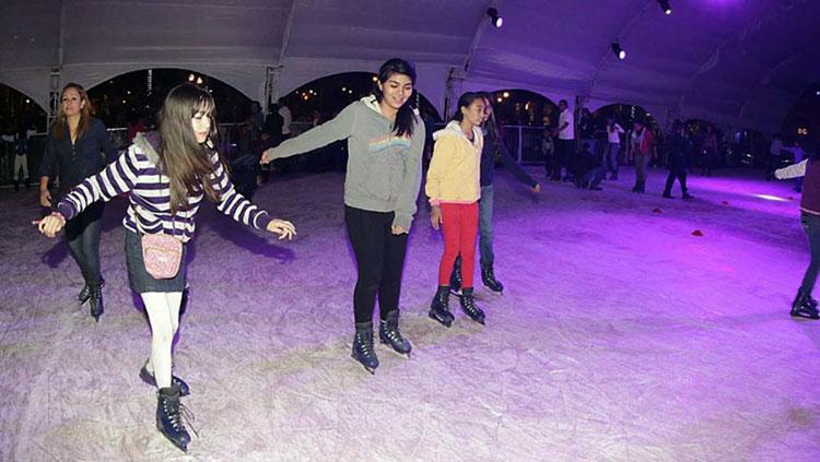 Habrá pista de patinaje en Fundadores