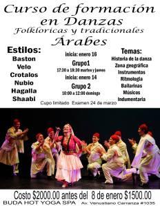 Curso de formación en danzas folkloricas y tradicionales árabes @ Buda Hot Yoga SPA | San Luis Potosí | San Luis Potosí | México