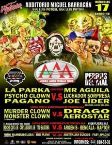 Lucha libre AAA @ San Luis Potosí | San Luis Potosí | México