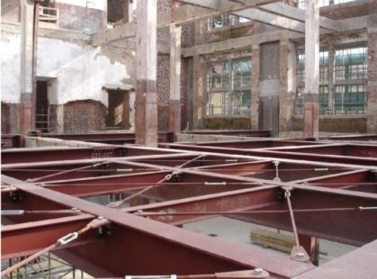acciaio nelle costruzioni esistenti