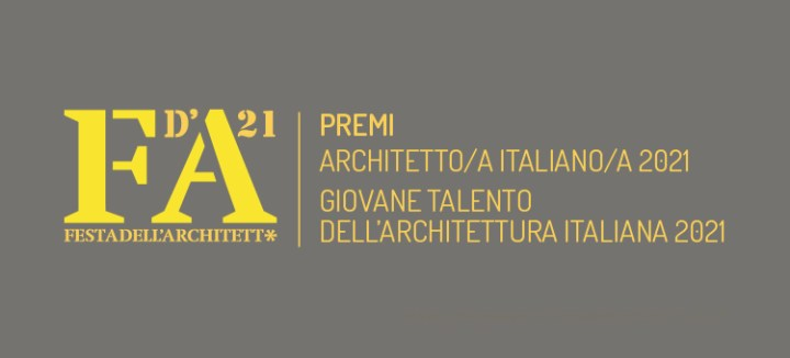 premio architetto italiano 2021