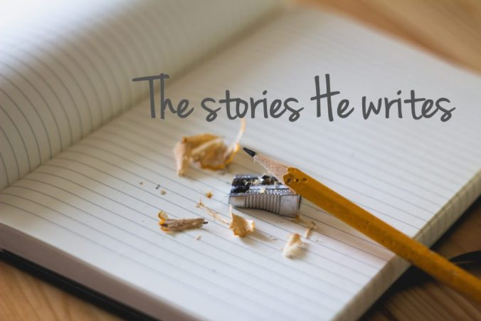 the stories he writes