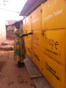 Namuwongo Hope for Children bathrooms