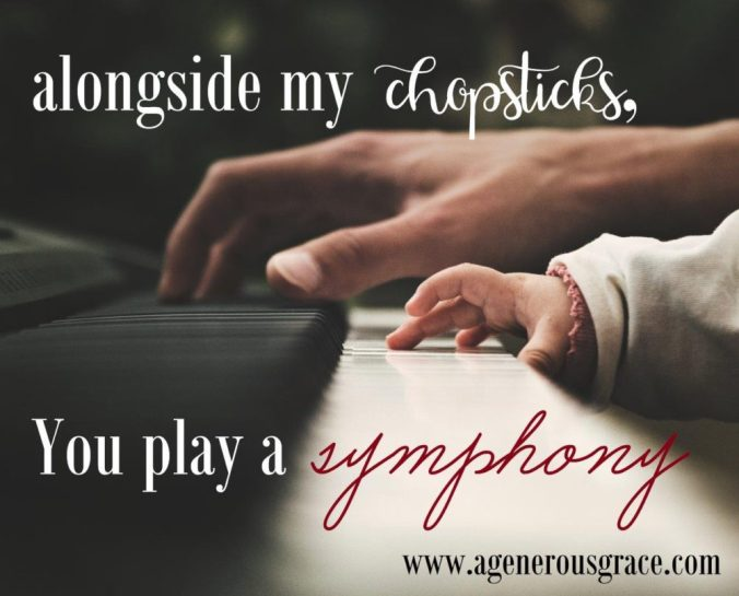symphony alongside my chopsticks everyday faithfulness