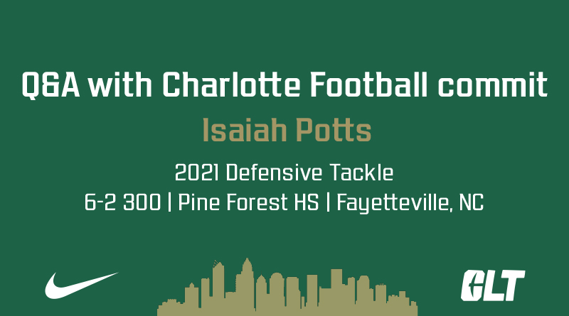 Q&A with Charlotte Football commit Isaiah Potts