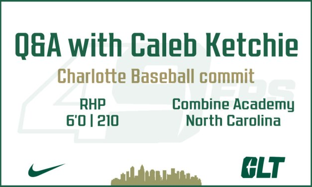 Q&A with Charlotte Baseball commit Caleb Ketchie