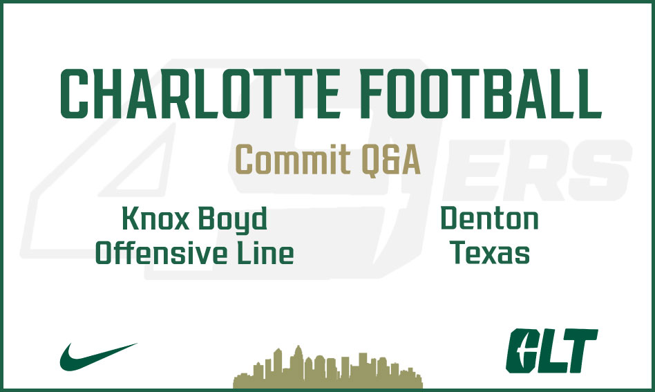 Q&A with Charlotte Football commit Knox Boyd