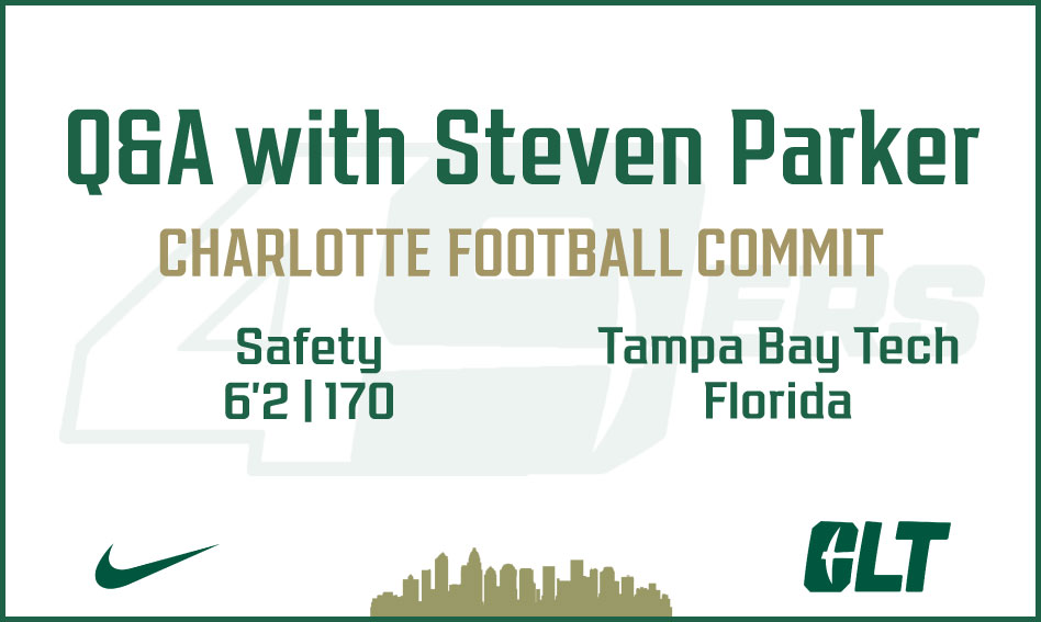 Q&A with Charlotte Football commit Steven Parker