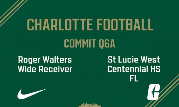 """Q&A with Charlotte commit Roger """"Fresh"""" Walters"""