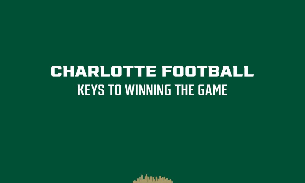 Charlotte Football: Keys to defeating Duke