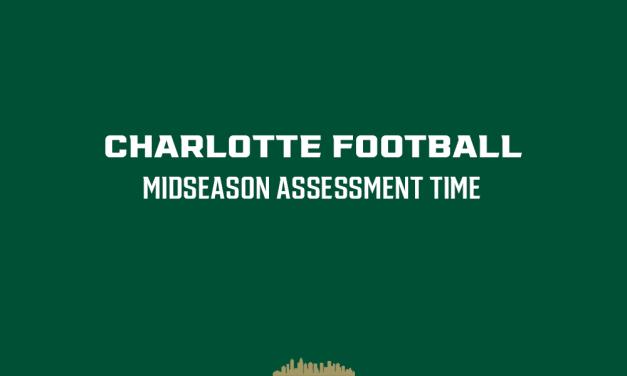 Midseason assessment time for Charlotte 49ers Football