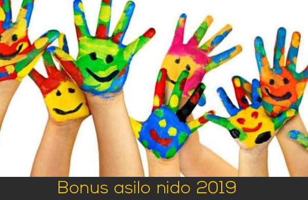 Bonus asilo nido 2019
