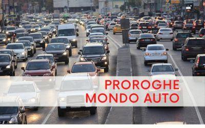 PROROGHE RELATIVE AL MONDO AUTO