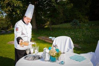 Svatba na klíč: catering
