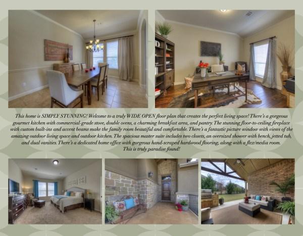 4-page brochure property marketing brochure real estate agents realtors agent operations