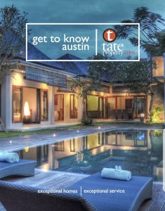 Agent Operations marketing firm listing package brochure Get to Know Austin - Tate Property
