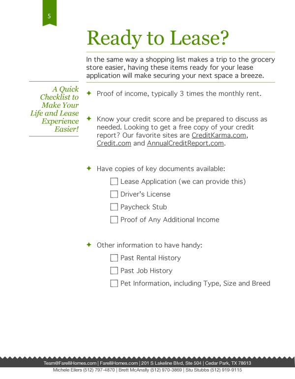 Guide to Leasing Package Tenant Package for Real Estate and REALTORS Agent Operations real estate marketingGuide to Leasing Package Tenant Package for Real Estate and REALTORS