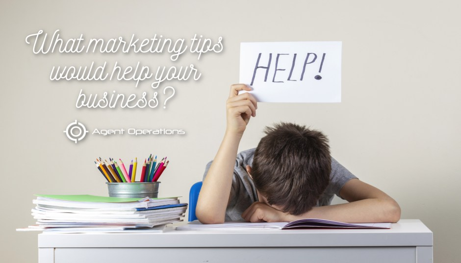 What Marketing Tips Would Help Your Business? Agent Operations