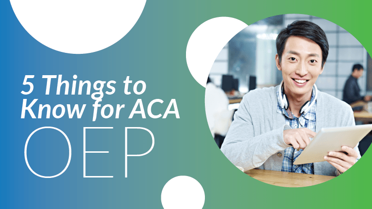 5 Things to Know for ACA Open Enrollment Period