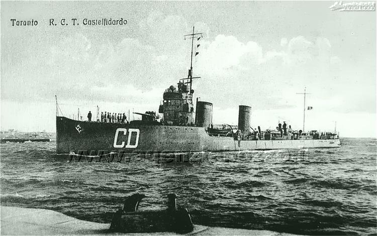 3617C_RN_Castelfidardo_1922_cacciatorped