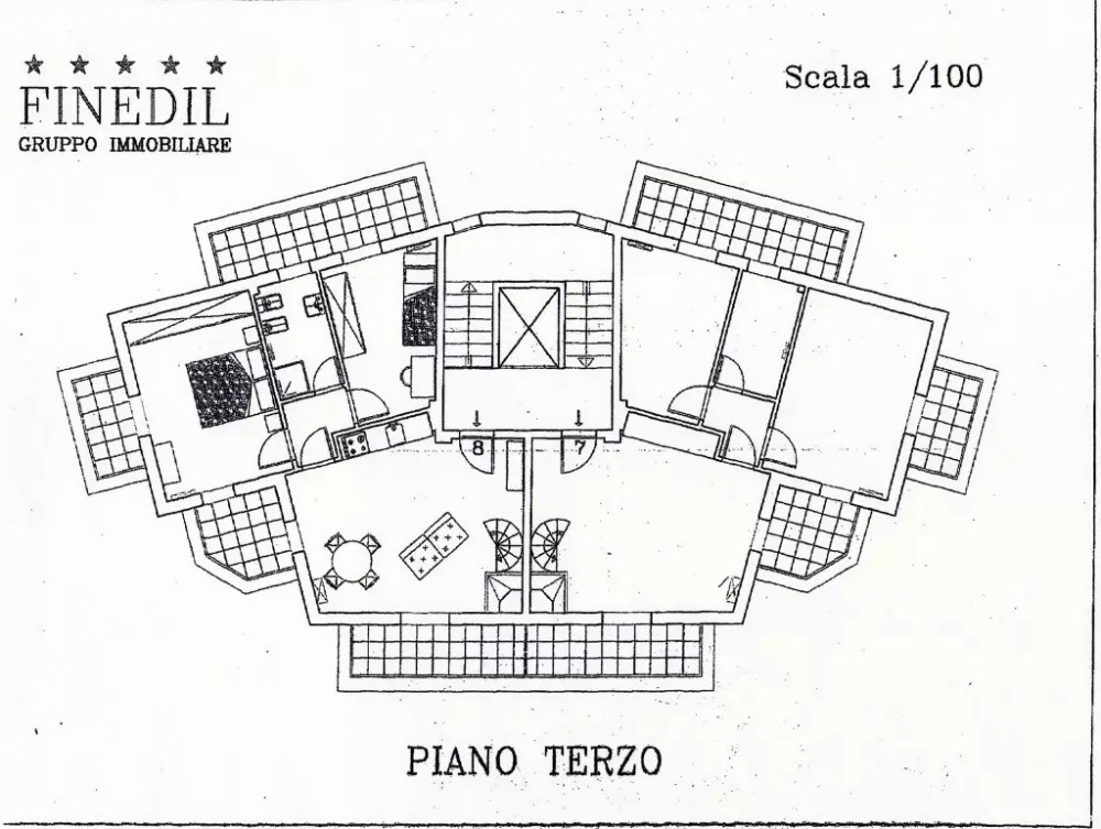 Appartamento Abetone Le Motte Mansarda Quattro Vani Mq 95 (1)