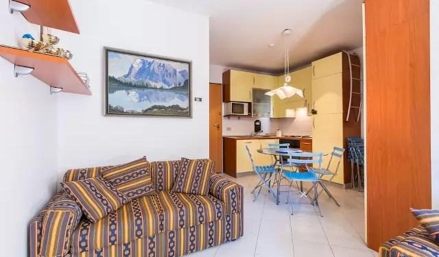 Bilocale Val di Luce Mq 55 primo piano otto posti letto