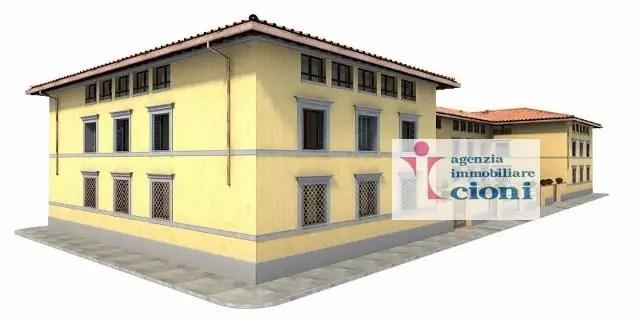 Trilocale Firenze San Frediano Mq 90 Piano terra Rialzato arredato (5)