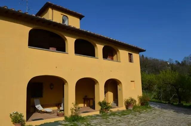 Villa Leopoldina Mq 400 Firenze Pontassieve 15 vani terreno 2,5 Ettari (14)