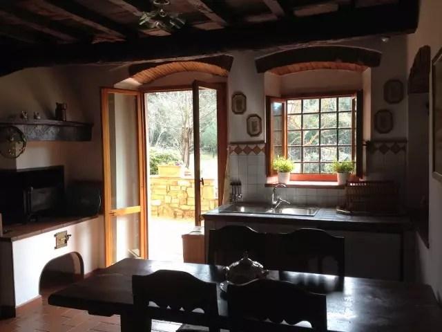 Villa Leopoldina Mq 400 Firenze Pontassieve 15 vani terreno 2,5 Ettari Appartamento Laterale (3)