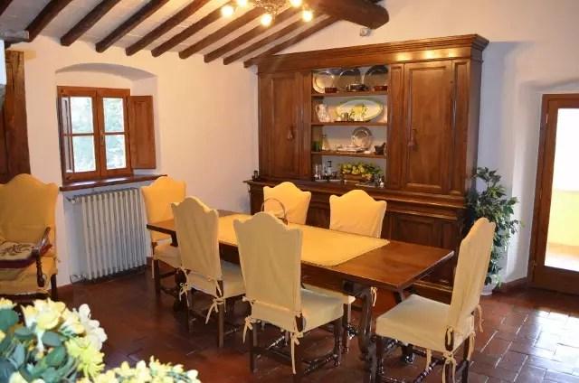 Villa Leopoldina Mq 400 Firenze Pontassieve 15 vani terreno 2,5 Ettari Appartamento Piano Primo (10)