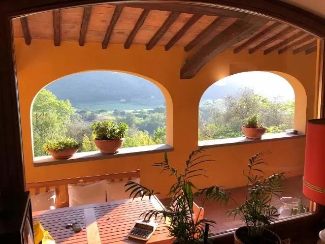 Villa Leopoldina Mq 400 Firenze Pontassieve 15 vani terreno 2,5 Ettari Appartamento Piano Primo (29)
