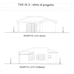 Villetta Quadrilocale Pietrasanta Tonfano Mq 98