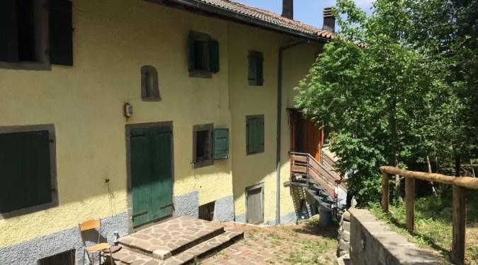 Villetta Terratetto Montalecchio Fiumalbo Trilocale Mq 80 Giardino Mq 200