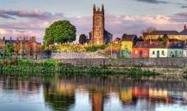 Shannon River at Limerick City