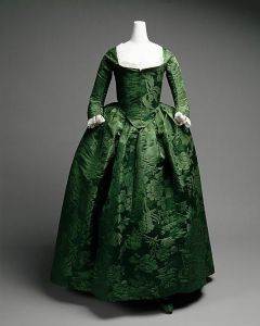 Green Round Gown from Met Museum