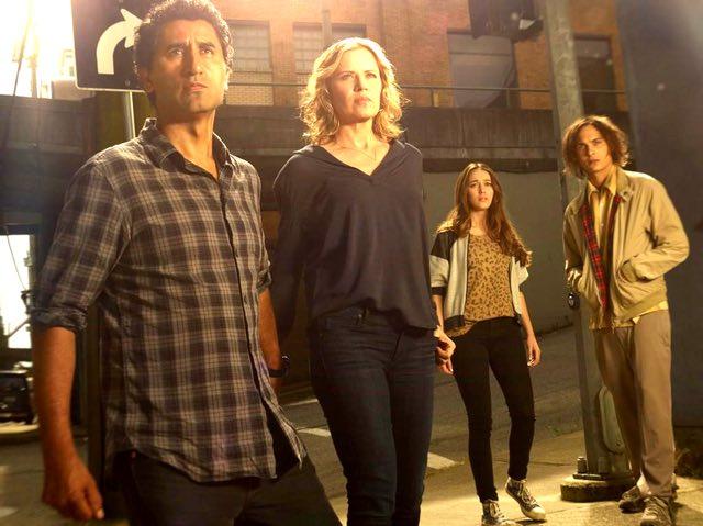 Fear the walking dead core cast photo