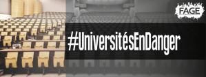 Universités en danger : l'AGEP se mobilise pour défendre l'enseignement supérieur