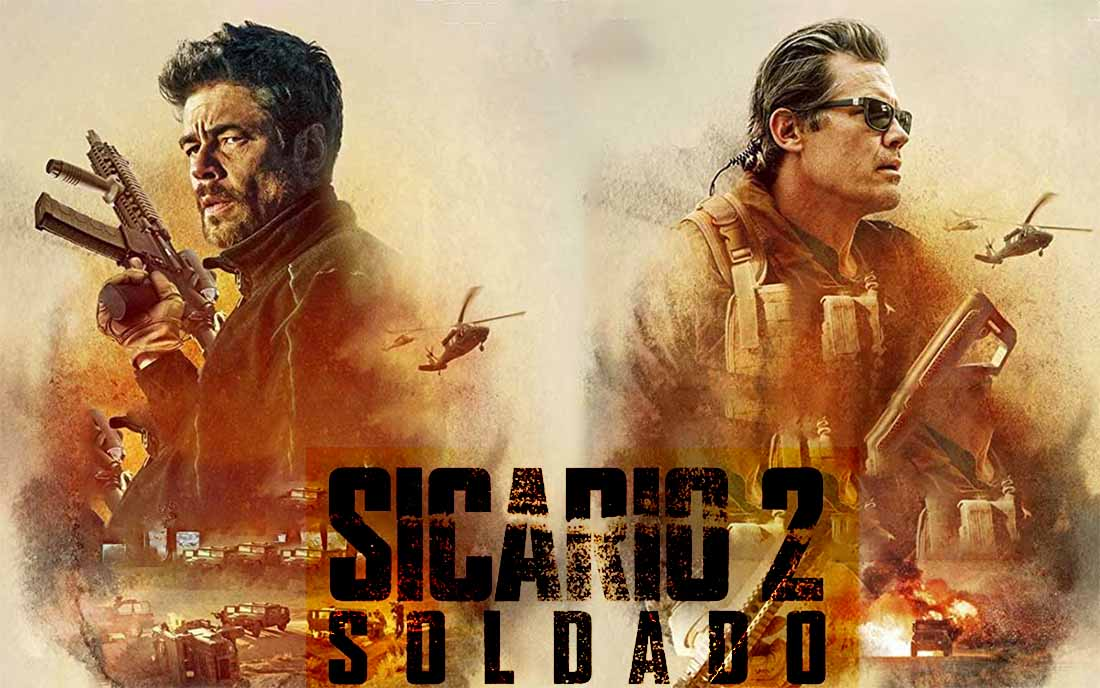 2018 Movie Posters: Sicario Day Of The Soldado Age Rating