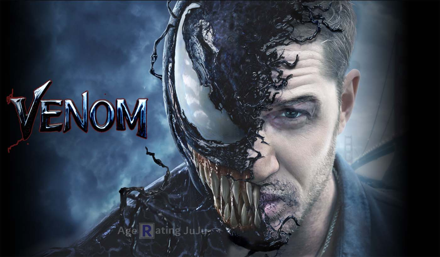 2018 Movie Posters: Venom Movie 2018 Restriction Certificate