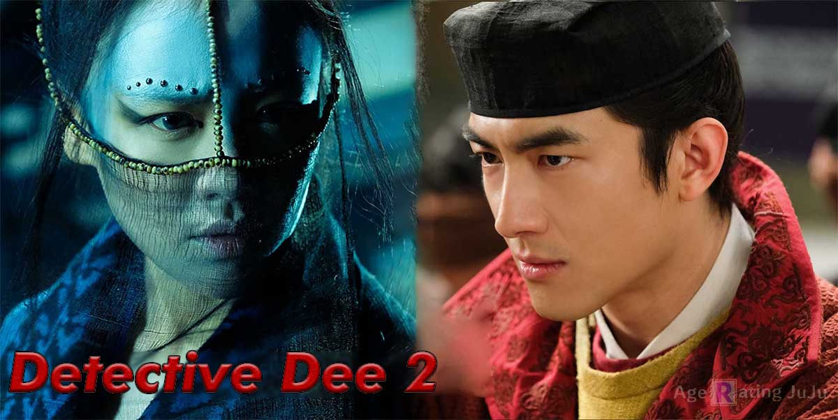 Movie Poster 2019: Detective Dee: The Four Heavenly Kings Age Rating