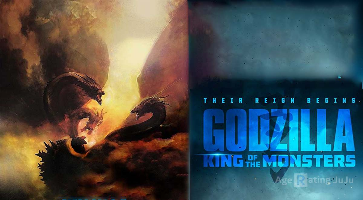 Movie Poster 2019: Godzilla: King Of The Monsters Age Rating