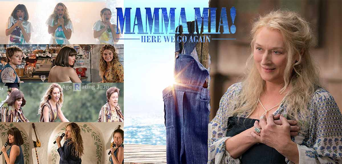 Movie Poster 2019: Mamma Mia! Here We Go Again Age Rating