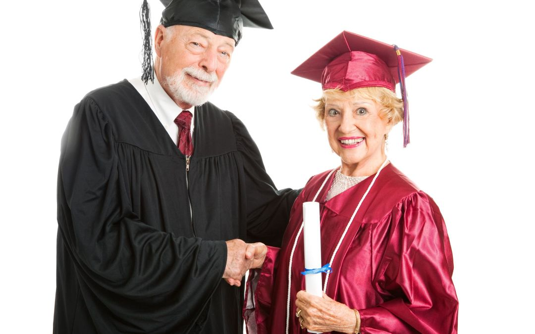 "Senior Citizens Are Returning to College for ""Encore"" Educations"