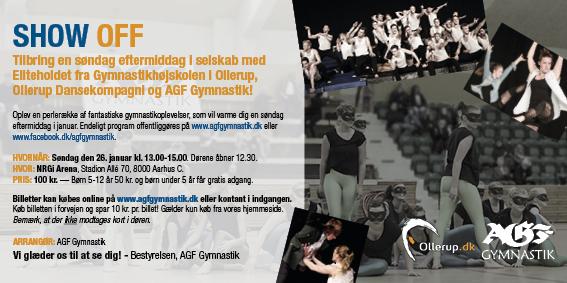 SHOW OFF! Vi Inviterer Indenfor Til Et Brag Af En Gymnastikevent